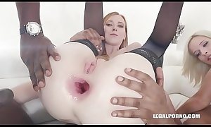 Fisting porn and xxx double anal time for Linda Sweet porn and xxx Ria Sunn