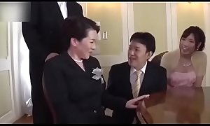 Ryoko Murakami - wedding day! Busty mother in law fucked by son in law