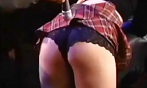 robot spanking ass in blonde