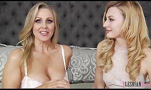 Julia Ann enjoys lesbian sex with Alexa Grace