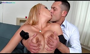 Stunning Electra Wild wants her partner's cock goes in and out of her asshole