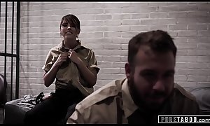 PURE TABOO Cops Adriana &amp_ Chad Cavity Search Naive Teen!