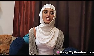 Dirty Muslim Teens Ignore Beliefs porn and xxx Share A Big Black Dick