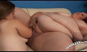 Fat slut is having a passionate oral sex adventure