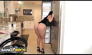 BANGBOS - Curvy Latina Valerie Kay Gets Her Big Ass Fucked By J-mac and Bruno Dickemz