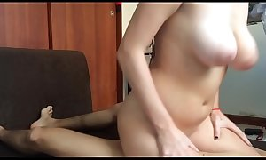 Hot step mom seduces son to have sex