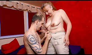XXX OMAS - Naughty mature German granny gets screwed
