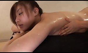 Nana Kawai  High-leg bikini yellow legs-fetish oil massage image video solo