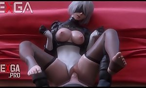 Automata hot porno video is fucked HD gameplay