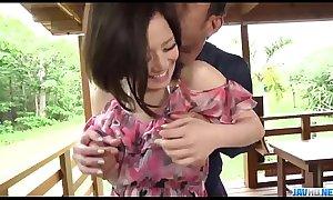 Great outdoor porn scenes along hot wife, Minami Asano - More at javhd.net
