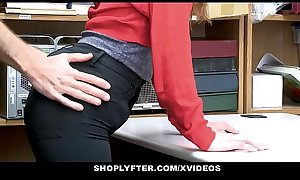 ShopLyfter - Shoplifting Teen Gets Punished