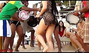 Samba hot dance