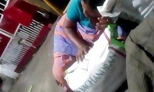 Tamil Village aunty bus cleavage