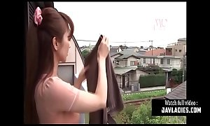 Japanese House Wife Fucked Hard By House Workers [JAV]
