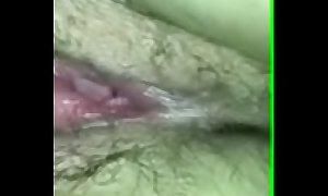 Fingering sleeping wife's pussy