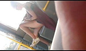 Slutty Teen In Bus
