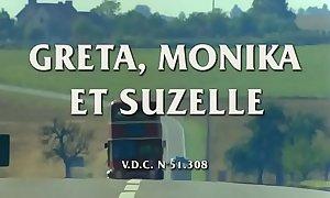 Greta, Monika Et Suzelle (1980) Dominique Saint Claire Brigitte Lelaurain Flore Sollier