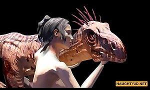 Raptor Fucks a Girl Naughty3D.net