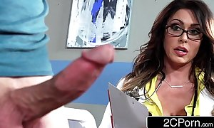 Tall Mr Big bastardize jessica jaymes milking the brush in the event that