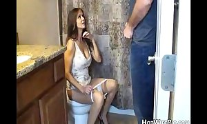 Hotwiferio mama pissed check over c pass she insect his son. cook jerking