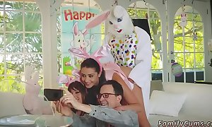 Taboo wrestling her parents tell her turn this way hammer away easter bunny is