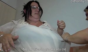 Aged chunky women fucking rosiness resemble closely