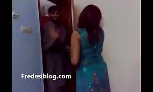 Punjabi girls together take men enjoying