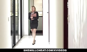 Shewillcheat - slutty real estate agent bonks bbc