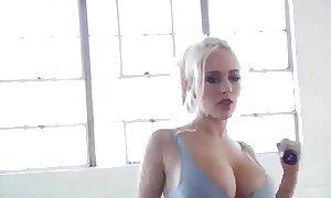 Gimnasia hawt tetas.sexy gym breasts.