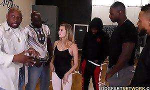 Carolina candy interracial group sex