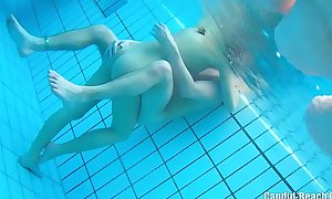 Underwater stripped couples sex webcam hidden spy