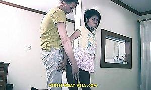 Thai legal age teenager babyslut