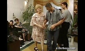 Matured grannies hardcore orgy