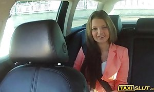 Petite liona gangbanged and received a cumload on her back