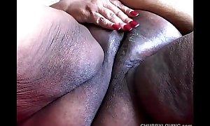 Ssbbw thinks of u fucking her moist fur pie