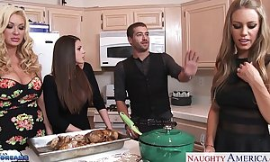 Hot gals brooklyn follow, nicole aniston and summer brielle acquires nailed