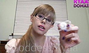 Diapered little dong femdom abdl