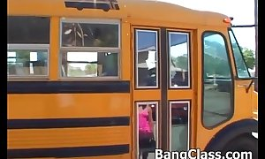 School bus driver bonking legal age teenager doll