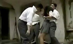 Vintage Asian Schoolgirl Forced