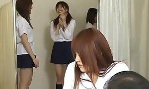 Japanese Schoolgirls Pussy examination - more videos on cam-girls.ml