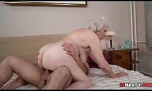 Goldilocks Busty Grandma Norma Fucking