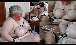 13-Nov-2017 Boobs Balls Electro Torture (Sklavinnen porn Sklavin porn Sklave porn slave)