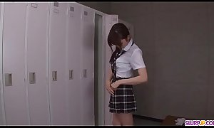 Moe Sakura does blowjob and fucks at school  - More at Slurpjpxxx porn video