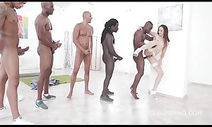 Brunette Beauty Avi Love Handles 5 BBC with Balls Deep Anal porn and xxx DAP