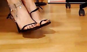 Footjob Live Webcam High Heels Stiletto Fetish