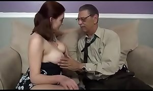 Grandpa cum inside horny granddaughter xincestporn.com