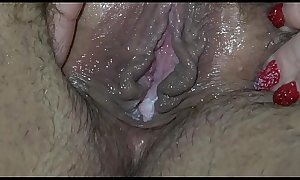 Girlfriends lick each other hairy pussy, cunnilingus to orgasm, lesbians bbw.