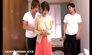 Japanese housewife forced gangbanged and blackmailed