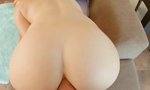 AssTraffic Anal abused by toy and huge cock