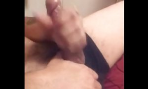 hot cock jerks off while roommate records